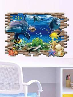 Sea World Home Decor Wall Stickers (mws9706)