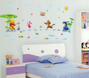 Tigger & Pooh Kid's Room Wall Stickers (mws7058)