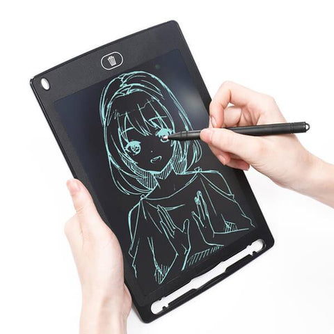 Ultra Thin 8.5 Inch LCD Writing and Doodling Board - Write, Create, Erase