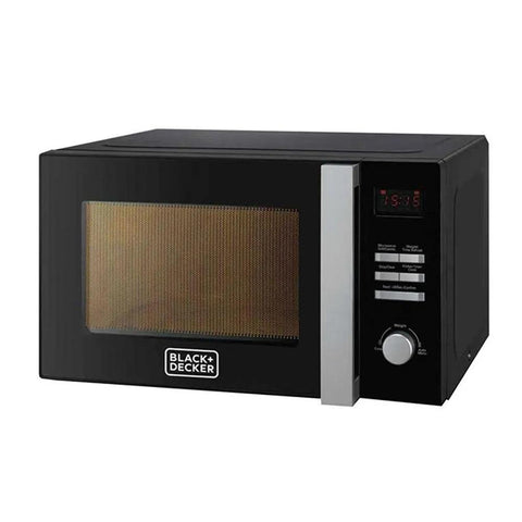 Black + Decker 28L Microwave Oven With Grill