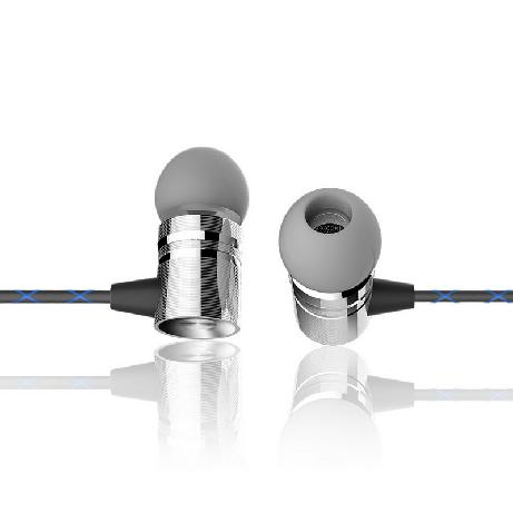 Vidvie Hs 606 Metal Stripes Stereo Earphones With Mic