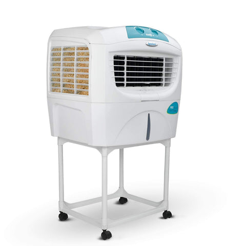 Symphony Sumo Jr. Portable Desert Air Cooler 45-litres with Trolley, Powerful Blower, 3-Side Cooling Pads, Automatic Vertical Swing & Low Power Consumption(White)