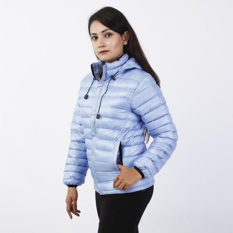 Light Blue Silicon Down Jacket price in Nepal