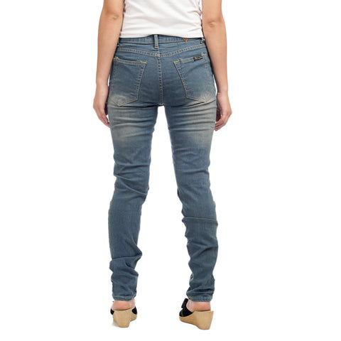 Women's High Waist Denim Pants by Attire Nepal