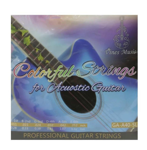 Vines Music Ga-A40-Sl Bronze Superlight Professional Guitar Strings price in Nepal