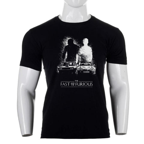 Shangrila Fast And Furious Print T-Shirt For Men