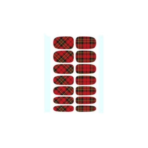 Multiple Colors Design Water Transfer Nail Art Sticker