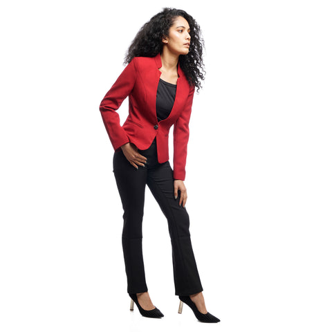 Women's Structured Double Button Fitted Blazer by Attire Nepal price in Nepal