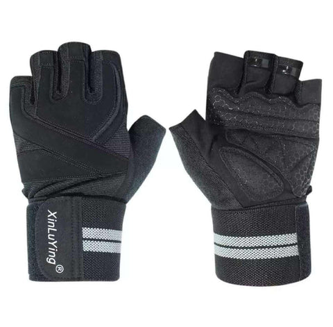 Professional Anti-Skid Wrist Support Gym Gloves