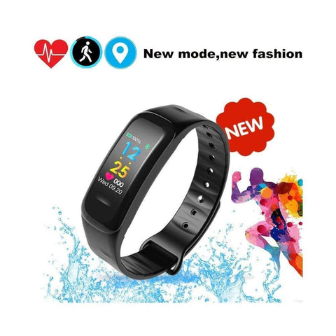 C18 Colorful Smart Bracelet Fitness Tracker price in nepla
