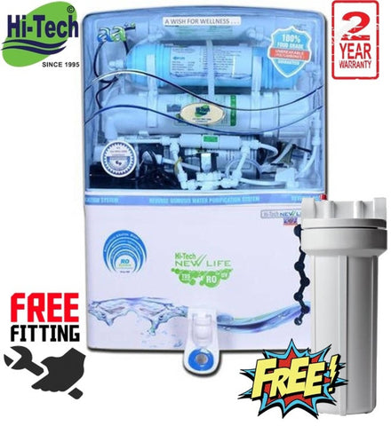 EP Hi-Tech India New Life Transparent Blue RO Water Purifier price in nepal