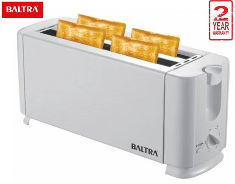EP Baltra India BTT214 Crispy+ 4 Slice Toaster 1300W - White price in Nepal
