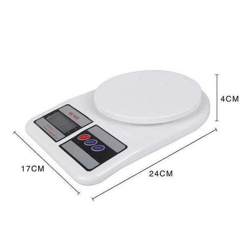 SF-400 Electronic Kitchen Scale, Digital Scale, Food Weighing Scale, 10kg x 1g / 353 oz x 0.1 oz / By ShopHill price in Nepal