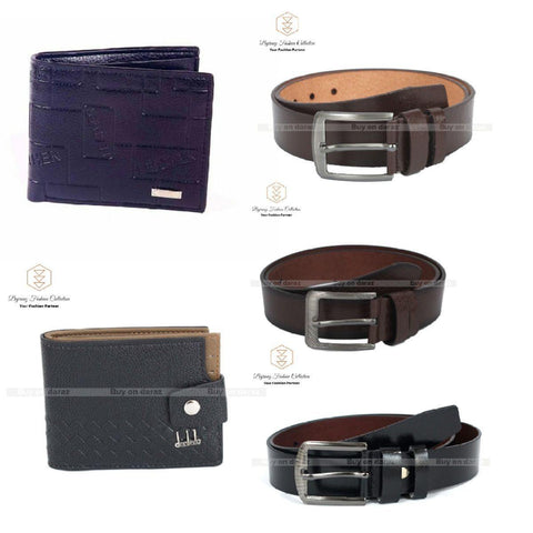 Combo Pack Of Men Belt And Purse By Bajrang