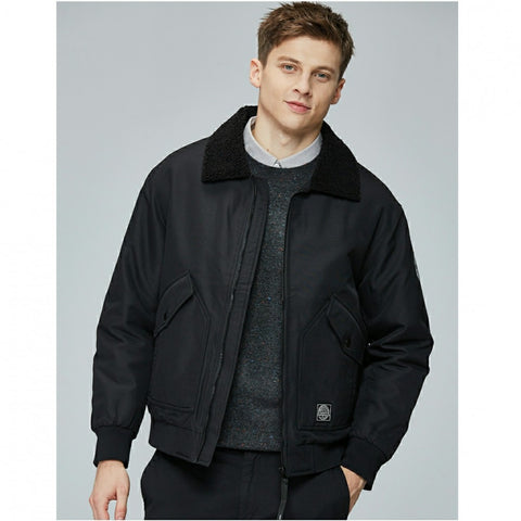 Fur Collar Jacket For Men