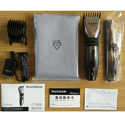 Flyco FC5808 Professional Electric Rechargeable Hair Clipper Cutting Machine Beards Shaver Trimmer