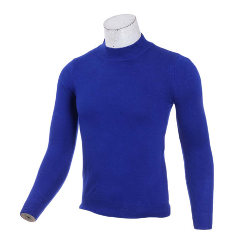 Men's Half Turtleneck Sweater Men's Fall Winter Pullover Sweaters Solid Color Sweater Men's Clothes By Bajrang price in nepal