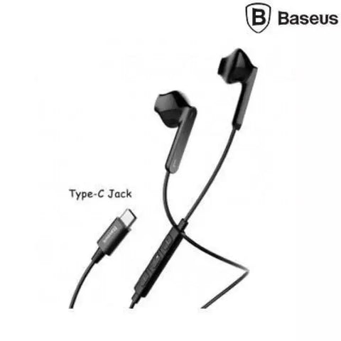 BASEUS Black Earphone Encok Wire Type-C Plug C16 price in Nepal
