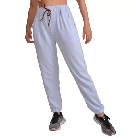 Light Grey Solid Joggers For Women price in nepal