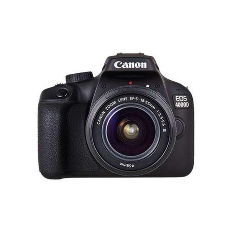 Canon EOS 4000D 18.0 MP DSLR Camera With EF-S 18-55mm IS (16 Gb Card )- Black price in Nepal