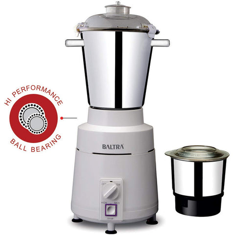 Baltra High Speed 2 Jar Heavy Mixer And Grinder - 1100 Watt price in Nepal