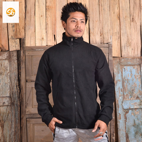 Fleece Single Winter Jacket For MenFleece Single Winter Jacket For Men price in nepal