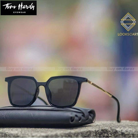 Tom Hardy Flat Sunglasses 5031 Black Unisex