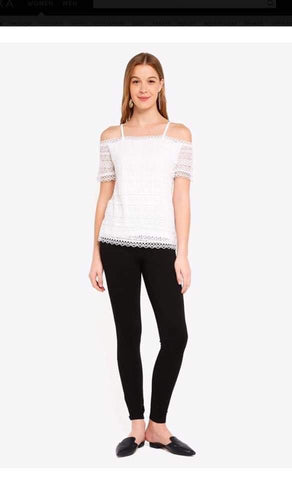 Dorothy Perkins Cold Shoulder Lace Tops price in nepal