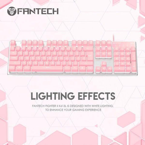 MK852 Wired Mechanical Keyboard Sakura Edition