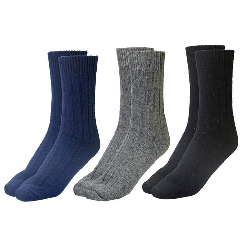 Pack Of 3 Woolen Socks