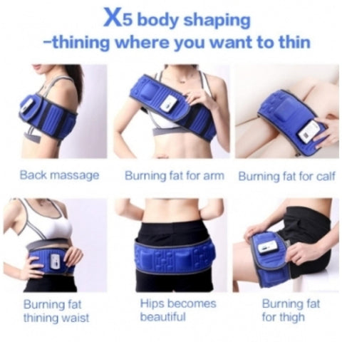 Tiens Electric Slimming Belt, Body Massager Vibrating Heating Waist Body Tummy Sauna Belt Fat Burning Tool, Slimming Belt, Sauna Belt, Slimming Belt, Tiens Belt / By ShopHill