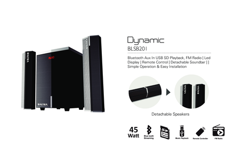 Baltra Dynamic 2.1 Sound System