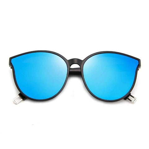 Lookscart Blue Lens Oversized Fashionable Unisex Sunglass