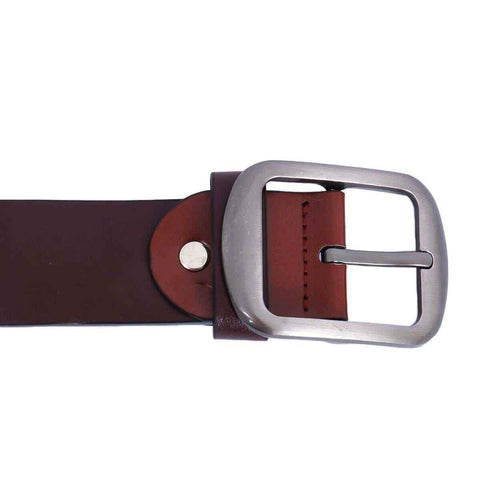 Maroon Solid Belt For Men Price in Nepal