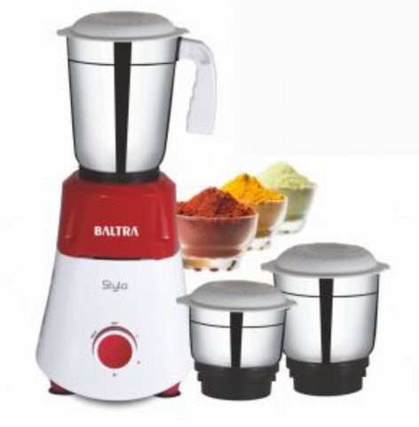 Baltra Stylo 3 Jar Mixer And Grinder - 550 Watt price in Nepal
