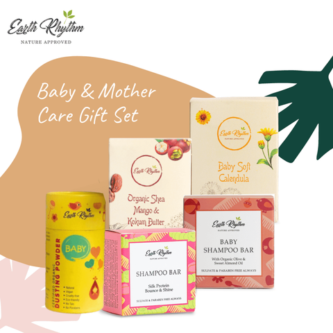 Earth Rhythm Baby & Mother Care Gift Set