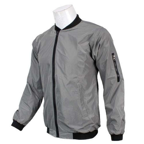 Light Grey Bomber Windcheater For Men price in nepal