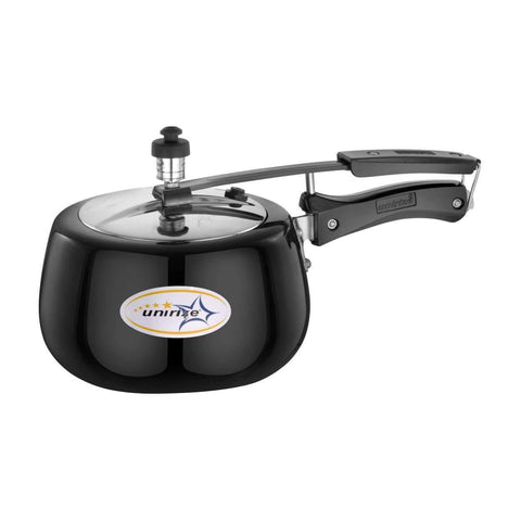 Unirize Hard Anodised 4Ltrs Induction Based Pressure Cooker