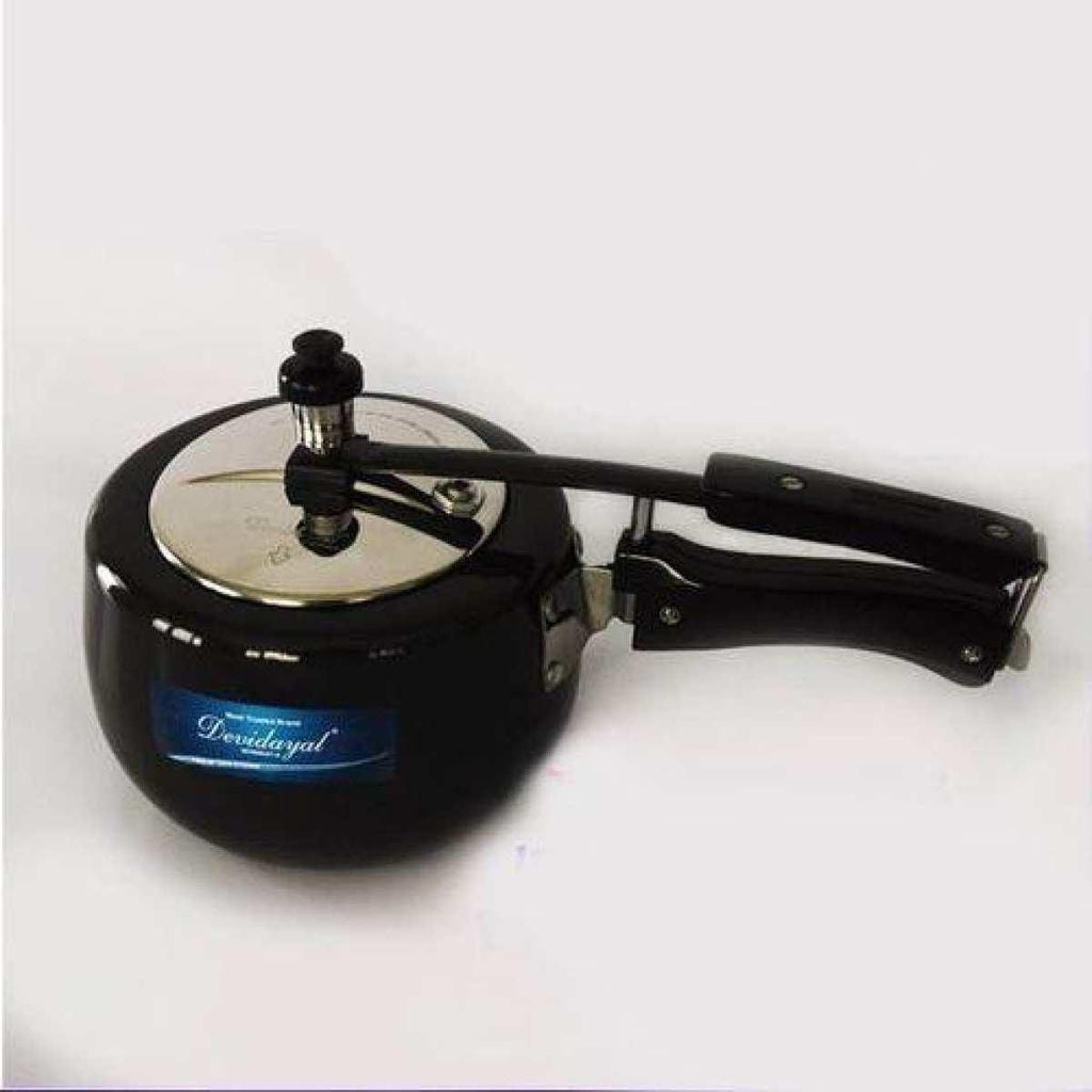 DeviDayal l Hard Andonized Pressure Cooker Induction Base - 5L