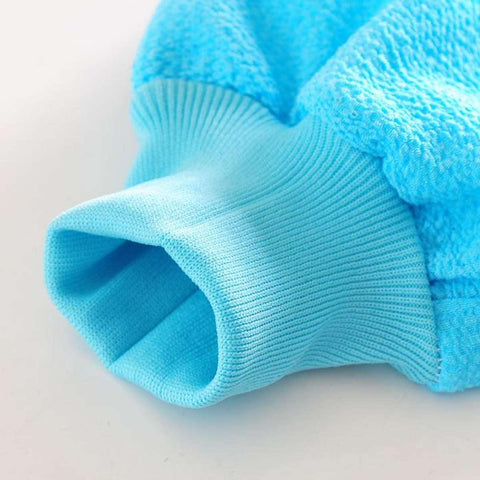 Gloves Shower Bath Mitt Loofah Skin Exfoliating Body Scrub Massage Sponge Spa