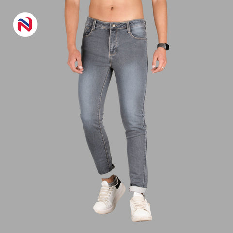 Nyptra Grey Premium Choose Jeans For Men price in nepal