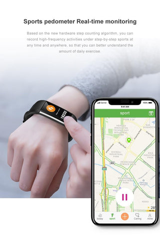 M200 Smart Bracelet Heart Rate Monitor
