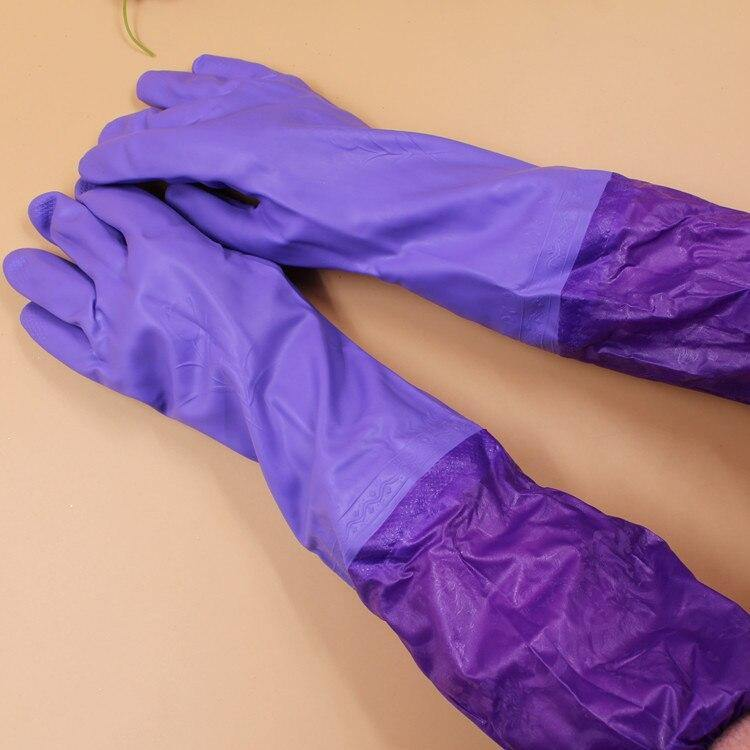 Waterproof Dish Washing And Cleaning Gloves - Fur Inside price in Nepal