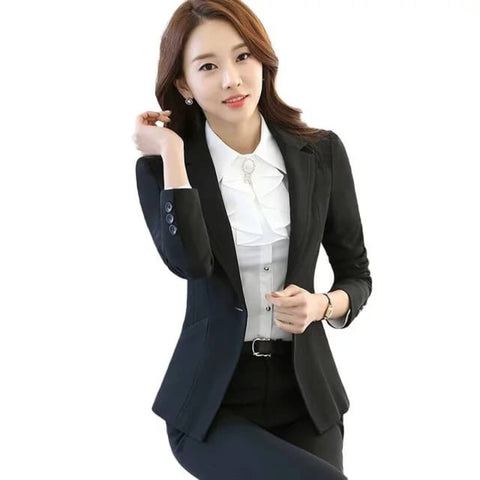 Women's Single Breasted Structured Notched Lapel Blazer by Attire Nepal price in Nepal