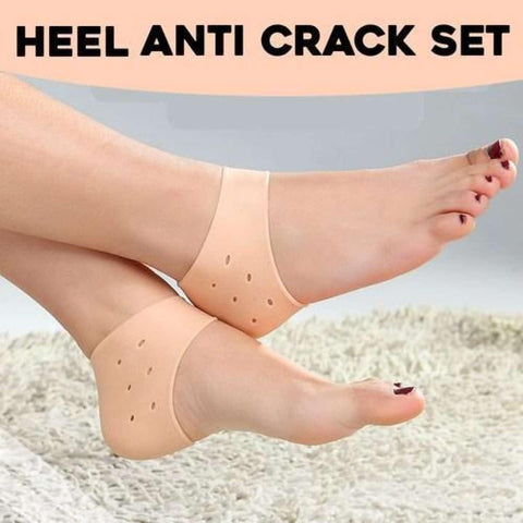 Silicone Gel Heel Protector Pain Relief Anti-Cracking