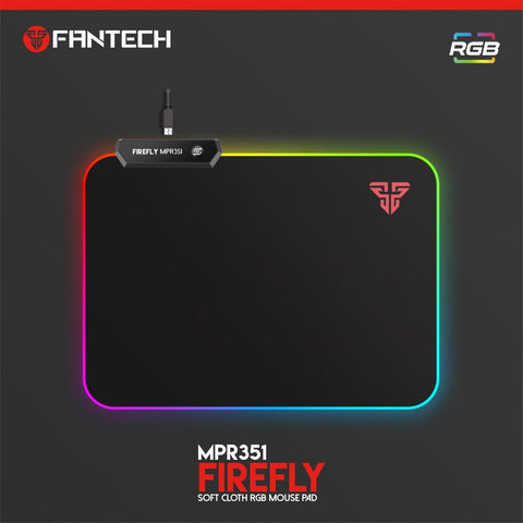 FANTECH MPR351 FIREFLY RGB MOUSE PAD price in nepal