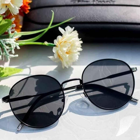Tom Hardy Black Round Unisex Sunglass- 1915