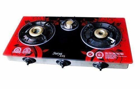 Surya 3 burner gas stove