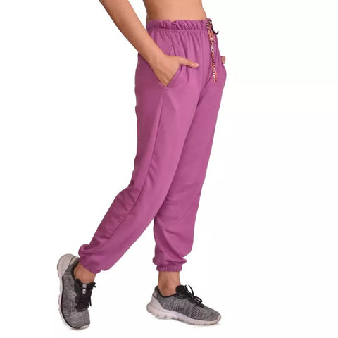 Purple Solid Joggers For Women price in nepal