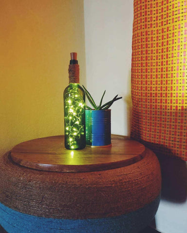 Twinkle Light (Wine Bottle Cork Lights Decor) From Tyre Treasures